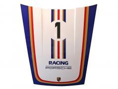 Hætte foran Porsche 911 G-model #1 Motorsport Rothmans design