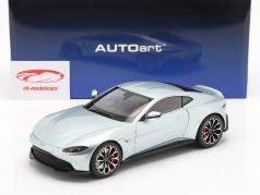 Aston Martin Vantage Baujahr 2019 skyfall silber 1:18 AUTOart