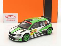 Skoda Fabia R5 #32 Rallye 加泰罗尼亚 2018 Rovanperä, Halttunen 1:18 Ixo