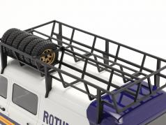 Ford Transit MK II ヴァン Rallye Assistance Rothmans 1:18 Ixo