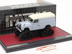 Land Rover Series II Cuthbertson Conversion 1958 bleu-gris / blanc 1:43 Matrix