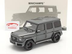 Mercedes-Benz AMG G63 year 2018 grey metallic 1:18 Minichamps