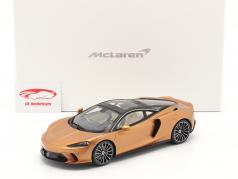 McLaren GT 建設年 2019 銅 メタリック と ショーケース 1:18 Spark