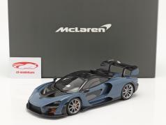 McLaren Senna year 2018 victory grey 1:18 TrueScale