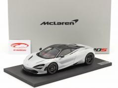 McLaren 720S Año de construcción 2017 glaciar blanco 1:18 TrueScale