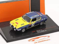 Ford Capri #2 Sachs Rally Baltic 1972 Röhrl, Berger 1:43 Ixo
