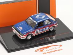 Renault 11 Turbo #16 6th Rally Tour de Corse 1987 A.Oreille, S.Oreille 1:43 Ixo
