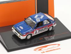 Renault 11 Turbo #3 4-й Rallye Tour de Corse 1987 Chatriot, Perin 1:43 Ixo