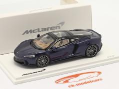 McLaren GT Año de construcción 2019 namaka azul 1:43 TrueScale