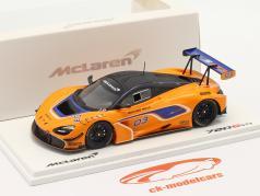 McLaren 720S GT3 2019 #03 naranja / azul 1:43 Chispa - chispear