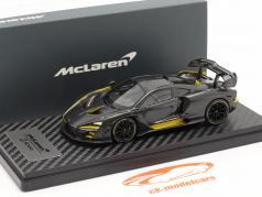 McLaren Senna MSO (P15) Bouwjaar 2018 koolstof / geel 1:43 TrueScale