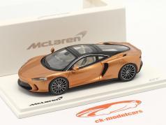 McLaren GT Byggeår 2019 kobber metallisk 1:43 TrueScale
