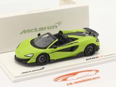 McLaren 600LT Spider Baujahr 2019 lime grün 1:43 TrueScale
