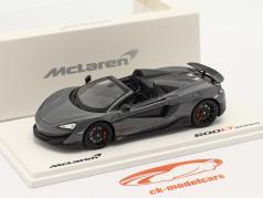 McLaren 600LT Spider Construction year 2019 chicane Gray 1:43 TrueScale