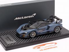 McLaren Senna built in 2018 victory gray 1:43 TrueScale
