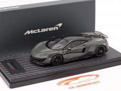 McLaren 600LT Coupe Baujahr 2018 chicane grau 1:43 TrueScale
