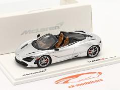 McLaren 720S Spider year 2019 supernova silver 1:43 TrueScale