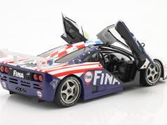 McLaren F1 GTR #39 8º 24h LeMans 1996 Piquet, Cecotto, Sullivan 1:18 Solido