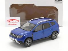 Dacia Duster MK II Año de construcción 2018 cosmos azul metálico 1:18 Solido
