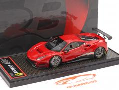 Ferrari 488 GT3 year 2020 corsa red 1:43 BBR