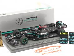 L. Hamilton Mercedes-AMG F1 W11 #44 Winner Turkish GP F1 World Champion 2020 1:43 Spark