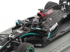 L. Hamilton Mercedes-AMG F1 W11 #44 vincitore Turco GP F1 Campione del mondo 2020 1:43 Spark