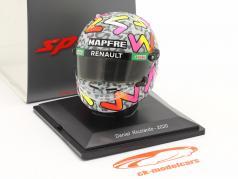 Daniel Ricciardo #3 Renault DP World F1 Team formula 1 2020 helmet 1:5 Spark