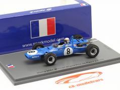 Jackie Stewart Matra MS5 #8 Ganador GP de Pau fórmula 2 1968 1:43 Spark