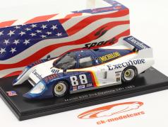 March 83G #88 2do 24h Daytona 1983 Wolters, Lanier, Hinze 1:43 Spark