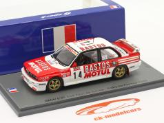 BMW M3 (E30) #14 2do Rallye Tour de Corse 1989 Chatriot, Perin 1:43 Spark