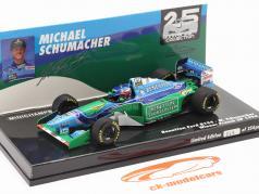M. Schumacher Benetton B194 #5 francés GP F1 Campeón mundial 1994 1:43 Minichamps