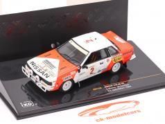 Nissan 240 RS #2 ралли Safari 1984 Mehta, Combes 1:43 Ixo