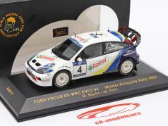 Ford Focus RS WRC EVO3 #4 Sieger Acropolis Rallye 2003 Martin, Park 1:43 Ixo / 2. Wahl