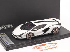 Lamborghini Sian FKP 37 Anno di costruzione 2019 monocerus bianca 1:43 LookSmart