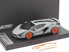 Lamborghini Sian FKP 37 Anno di costruzione 2019 stuoia grigio 1:43 LookSmart