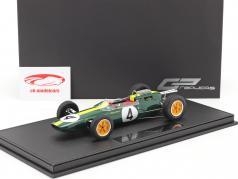 Jim Clark Lotus 25 #4 formula 1 World Champion 1963 with showcase 1:18 GP Replicas