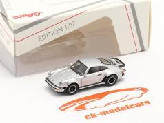 Porsche 911 (930) Turbo серебро металлический 1:87 Schuco