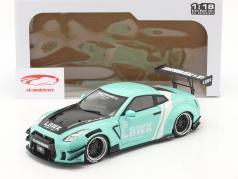 LB Works Nissan GT-R (R35) Тип 2 мята зеленый 1:18 Solido