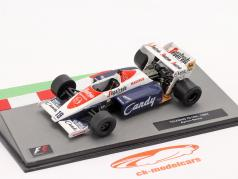 Ayrton Senna Toleman TG184 #19 Fórmula 1 1984 1:43 Altaya