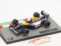 Nigel Mansell Williams FW14B #5 Fórmula 1 Campeão mundial 1992 1:43 Altaya