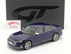 Audi S8 (D5) Год постройки 2020 navarra синий 1:18 GT-Spirit