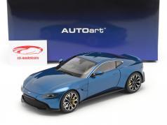 Aston Martin Vantage 建设年份 2019 ming 蓝色的 1:18 AUTOart