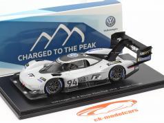 Volkswagen VW ID. R #94 勝者 Pikes Peak Hill Climb 2018 R. Dumas 1:43 Spark