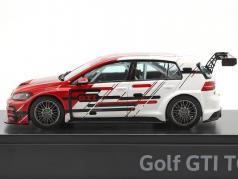Volkswagen VW Golf VII GTI TCR Bouwjaar 2019 rood / Wit 1:43 VW Motorsport