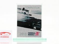 Tazza di vetro formula Renault 2.0 NEC Concorrente Premio Renault Sport 2013