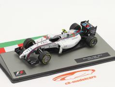Valtteri Bottas Williams FW36 #77 2ª britânico GP Fórmula 1 2014 1:43 Altaya