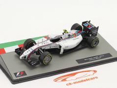 Valtteri Bottas Williams FW36 #77 2e Brits GP formule 1 2014 1:43 Altaya