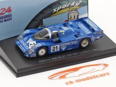 Porsche 956 #21 3rd 24h LeMans 1983 Andretti, Andretti, Alliot 1:64 Spark