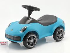 Baby Porsche Børnekøretøj miami blå