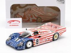 Porsche 956 LH #8 3. 24h LeMans 1986 Follmer, Morton, Miller 1:18 Solido